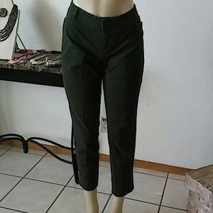 Stretch Ankle High Pants